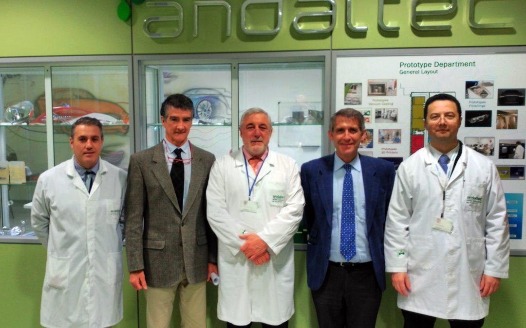 Responsables de Navantia conocen las instalaciones y servicios tecnológicos de Andaltec