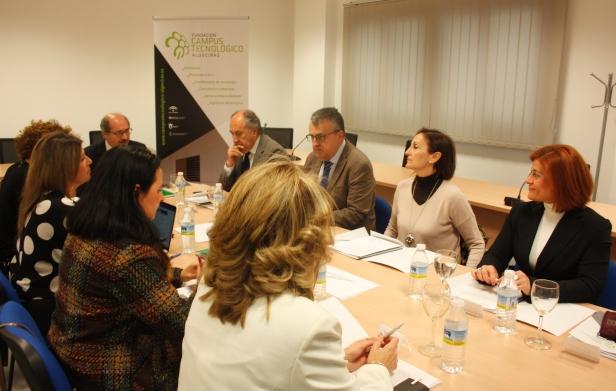 La Fundación Campus Tecnológico de Algeciras presenta en Patronato su nuevo plan de actuación