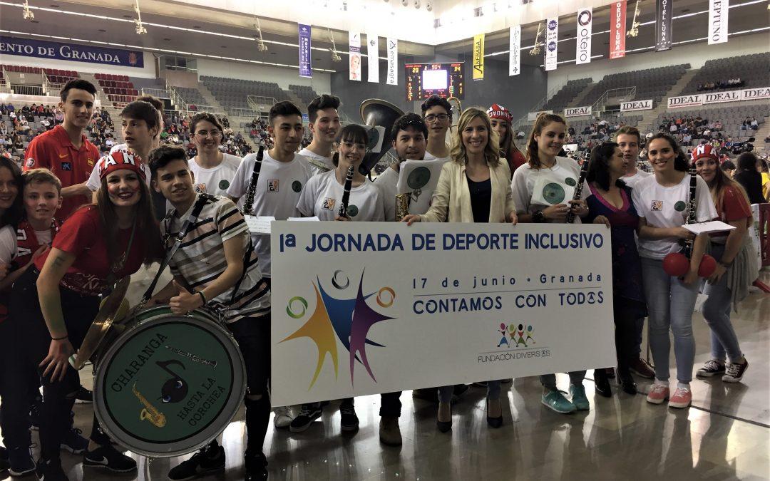 Fundación Diversos organiza la I Jornada de Deporte Inclusivo de Granada