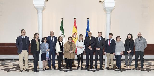 La Mesa del Tercer Sector de Andalucía se reúne con la presidenta de la junta de Andalucía