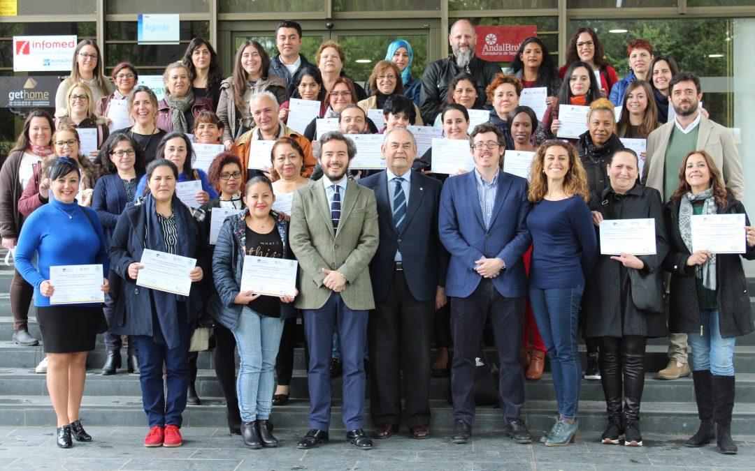 Rumbo hacia el empleo con el Proyecto Municipal Fundomar Sevilla Integra