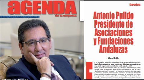 Entrevista al presidente de AFA en Agenda de la Empresa