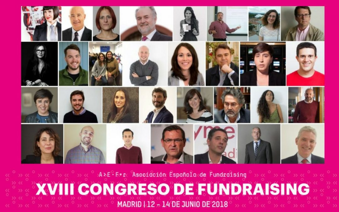 Participa con AFA en el XVIII Congreso de Fundraising