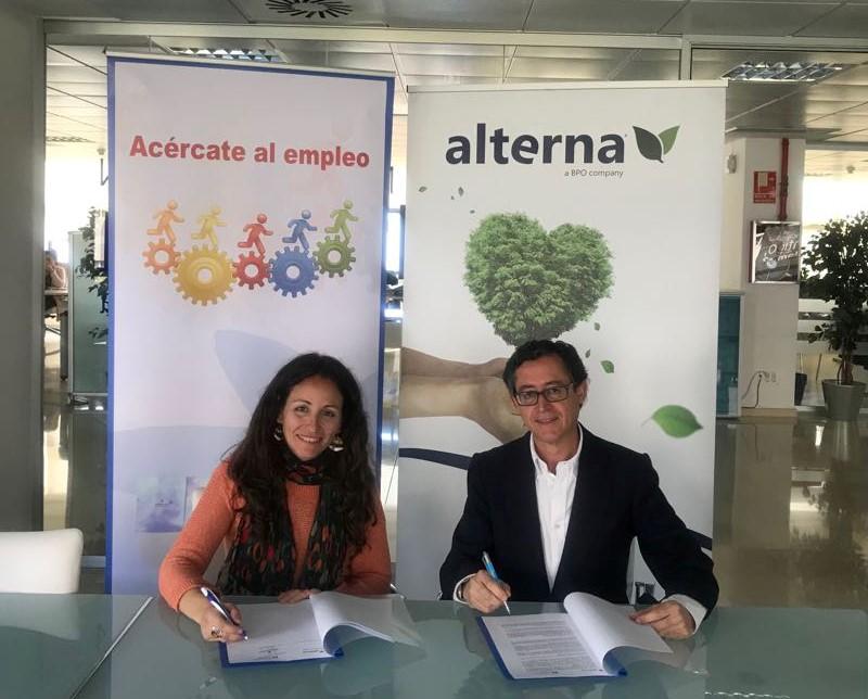 Fundación Alterna España colabora con Fundación Atenea