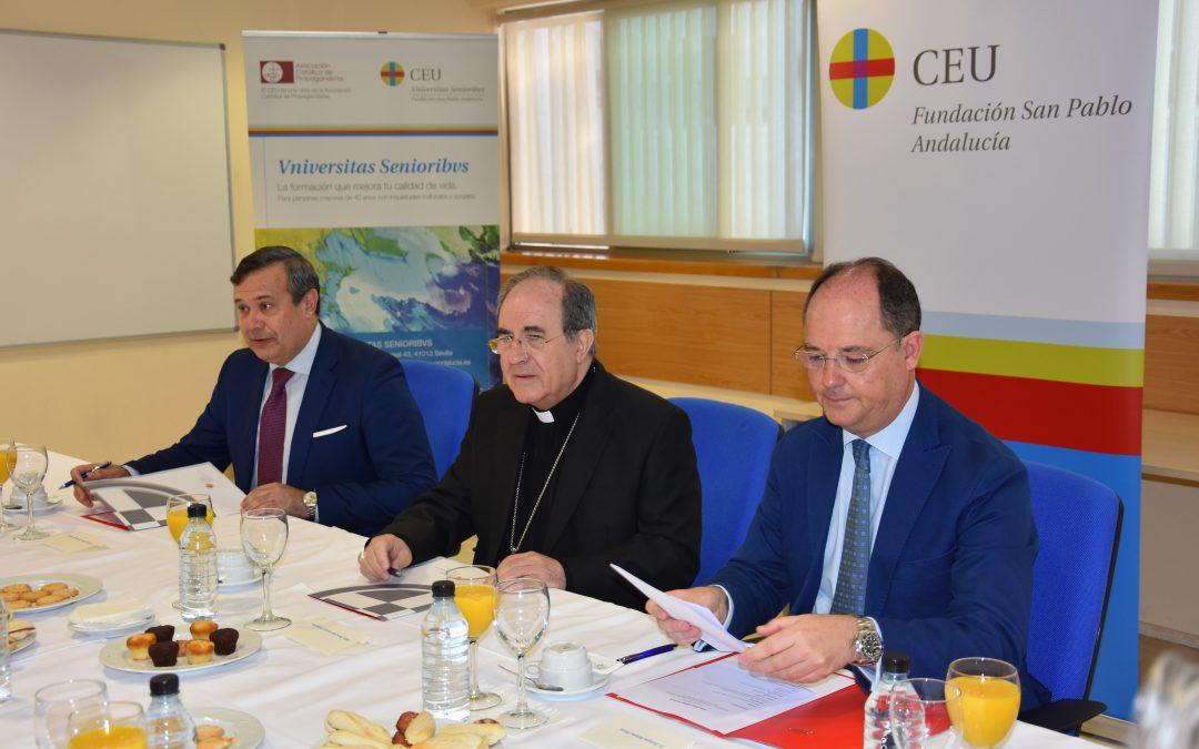 El Arzobispo de Sevilla en los Diálogos sobre Sevilla de CEU Andalucía