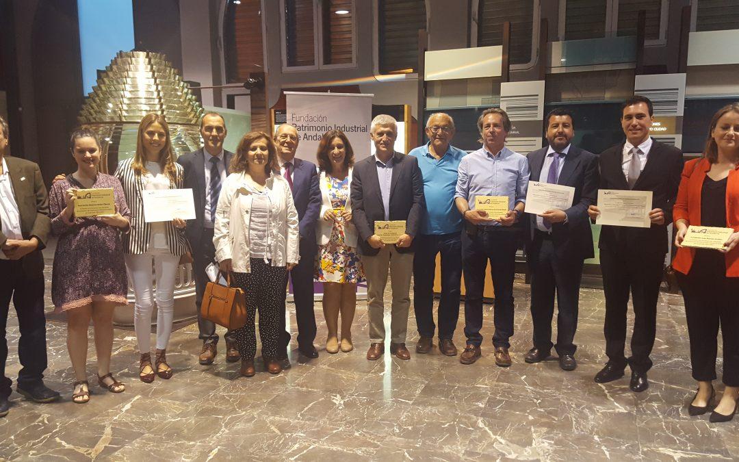 FUPIA premia las mejores iniciativas a investigadores y entidades por su defensa del patrimonio industrial andaluz