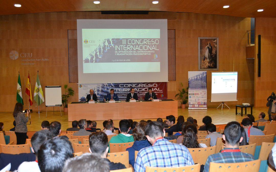 Expertos deportistas de alto nivel debaten este fin de semana en CEU Andalucía