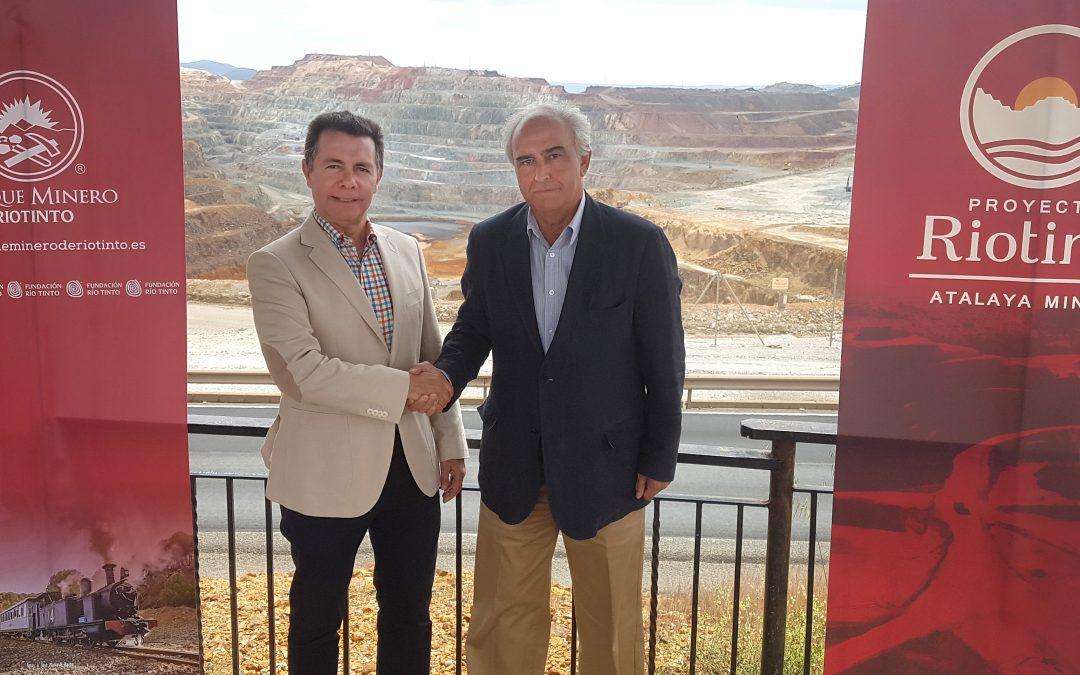 Fundación Atalaya y Fundación Río Tinto firman un acuerdo en beneficio de la conservación de la Cuenca Minera