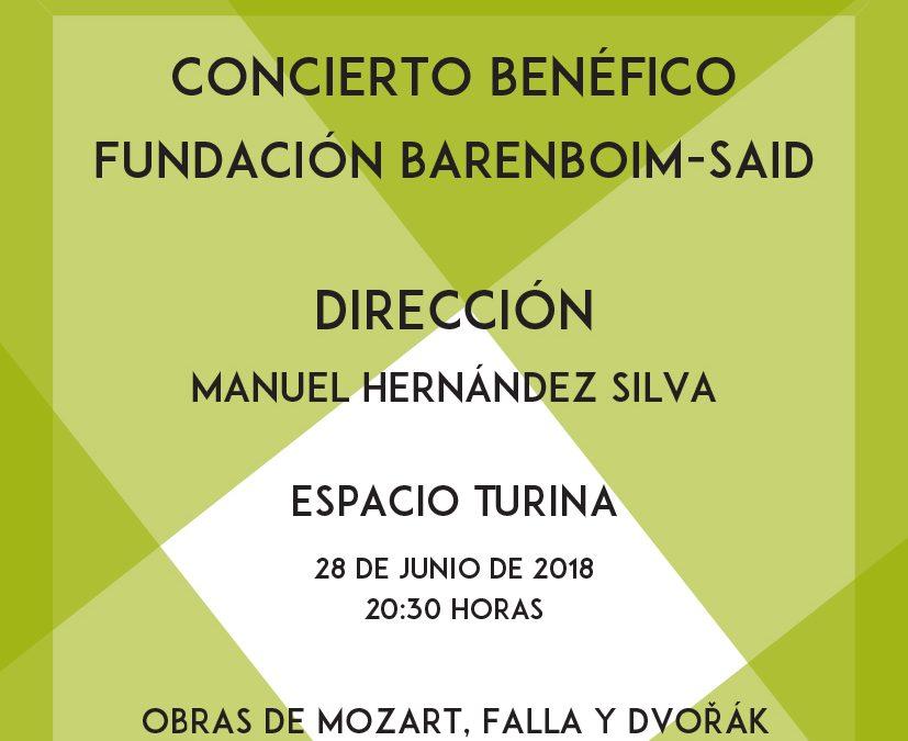 La Fundación Barenboim-Said clausura el curso 17/18 con un concierto a beneficio de ACNUR
