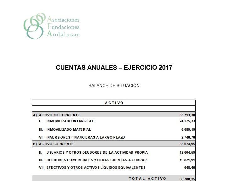 Cuentas Anuales 2017