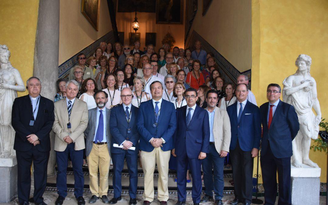 El Palacio de las Dueñas acoge a la Vniversitas Senioribus CEU Andalucía