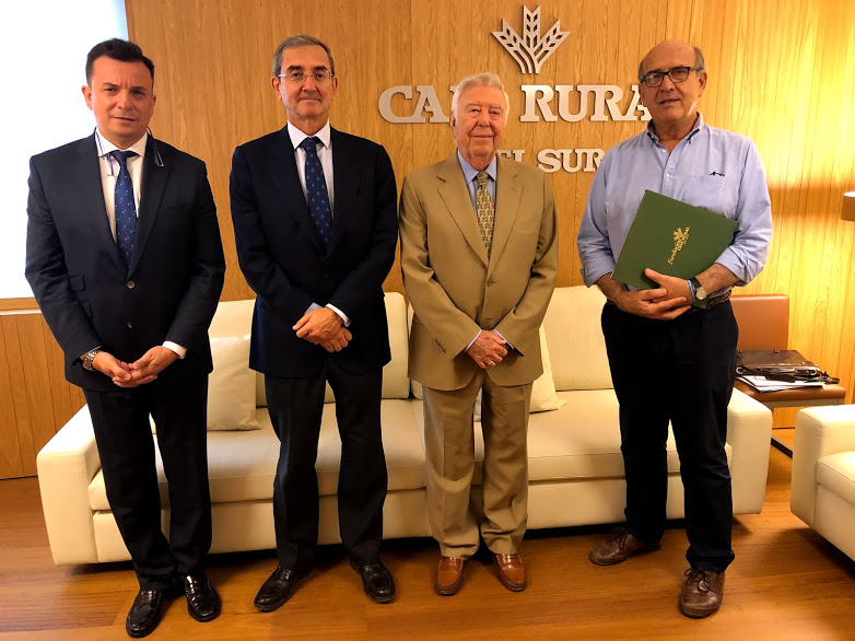 Proyecto Hombre Sevilla firma un acuerdo de colaboración con la Fundación Caja Rural del Sur