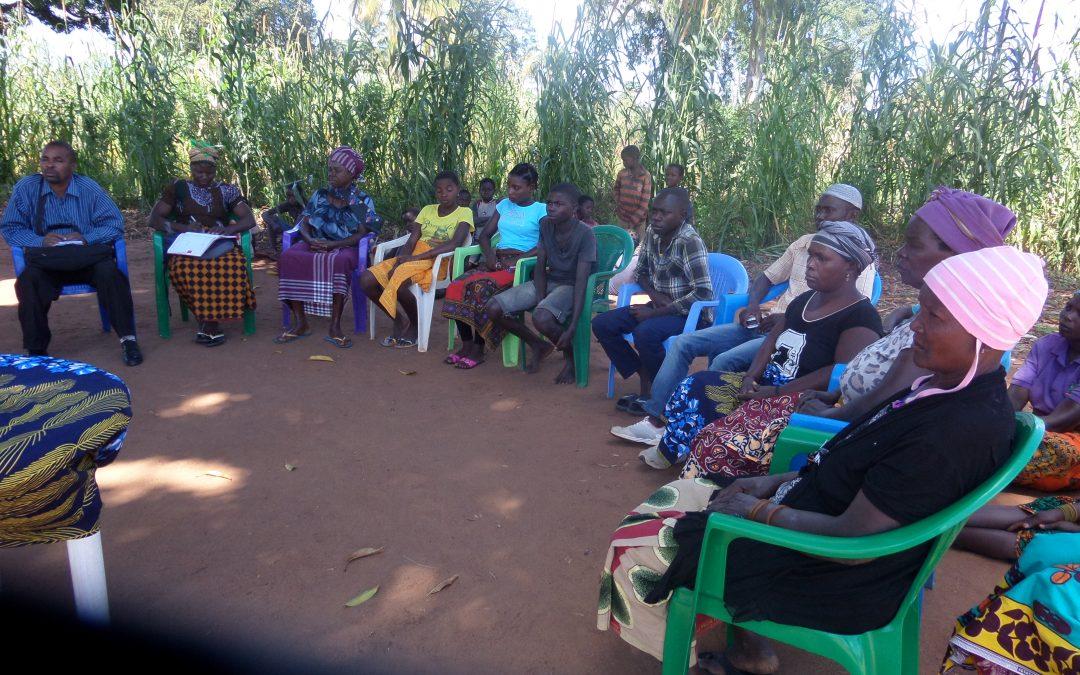 3.000 personas en Mozambique se involucran en el proyecto 'Familias trabajando la seguridad alimentaria' de Madre Coraje