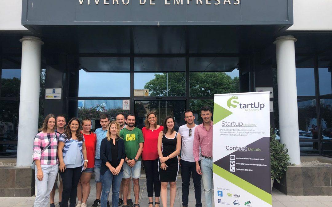 """Los socios del proyecto """"StartUp Academy"""" (Erasmus+) se reúnen en CEEI Bahía de Cádiz"""