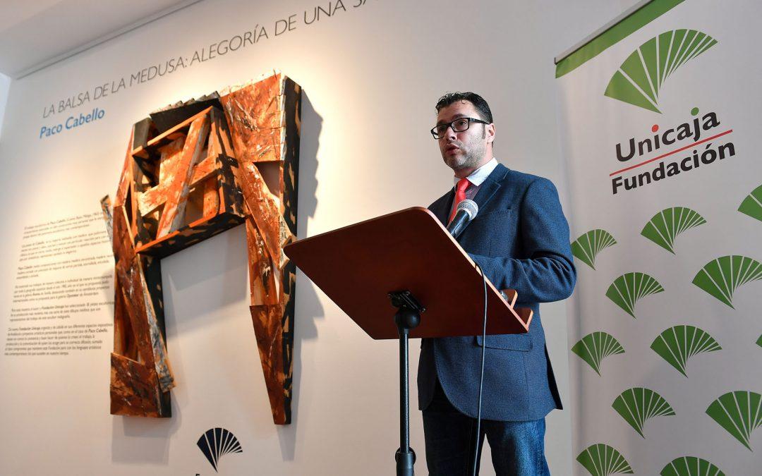 Fundación Unicaja trae al Centro Unicaja de Cultura de Antequera la exposición 'La balsa de la Medusa: alegoría de una salvación', del escultor Francisco Cabello