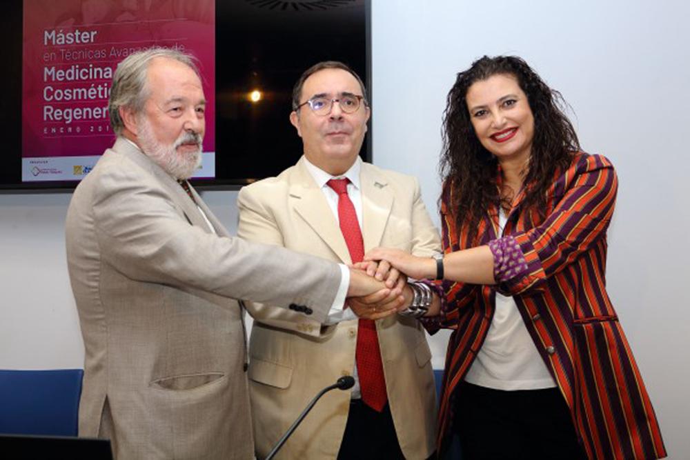 La Fundación Clínica Rocío Vázquez y la Universidad Pablo de Olavide desarrollarán el primer Máster en Técnicas Avanzadas de Medicina Estética, Cosmética y Regenerativa de Andalucía
