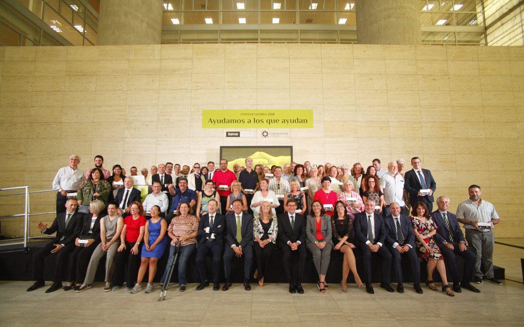 CajaGranada Fundación Y Bankia entregan 212.500 euros a 60 proyectos sociales y de fomento del empleo de la región