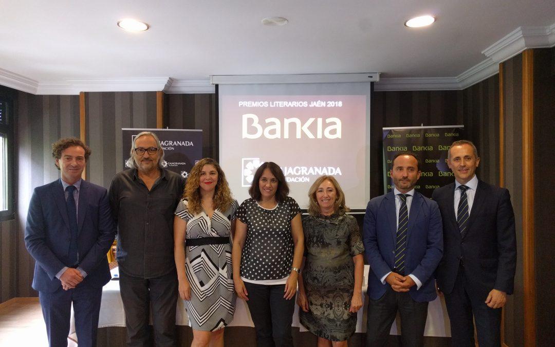 CajaGranada Fundación proclama las tres obras ganadoras de la 34 edición de los Premios Literarios Jaén 2018