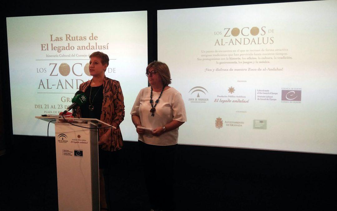 La Fundación Pública Andaluza El Legado Andalusí organiza Los Zocos de al-Andalus en Granada este fin de semana
