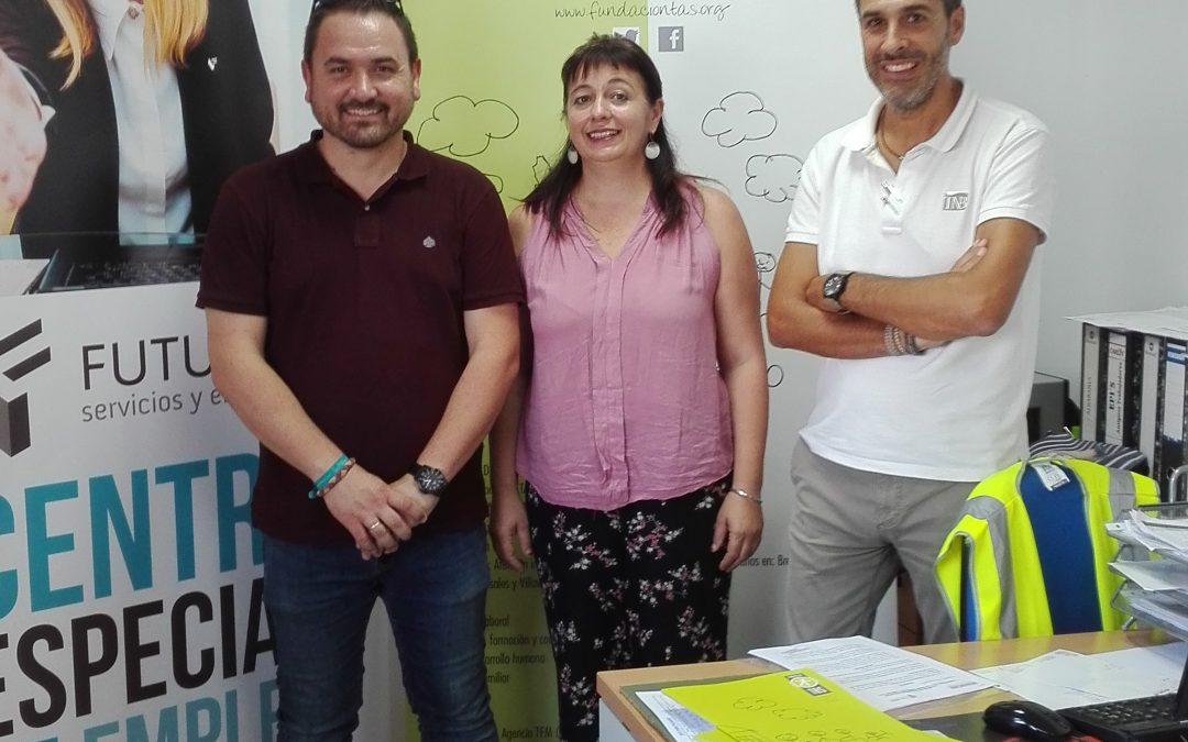 Fundación TAS y Futurem firman un convenio para la inserción laboral de personas con discapacidad