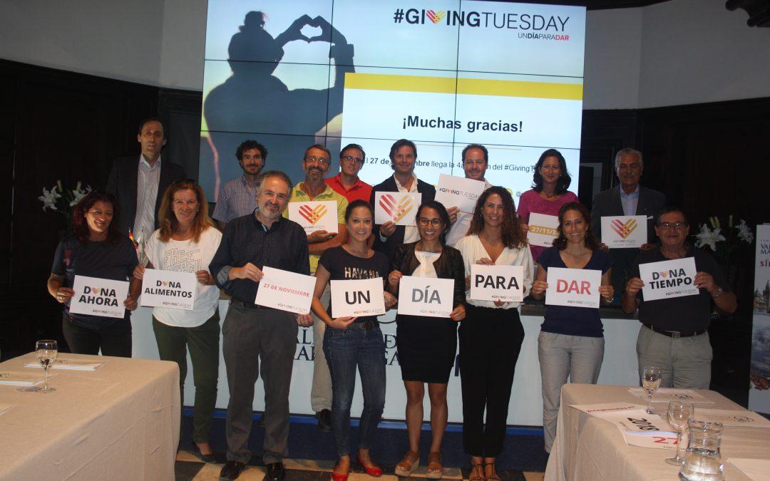 Una veintena de organizaciones asistieron ayer a la #GivingFormación en Sevilla