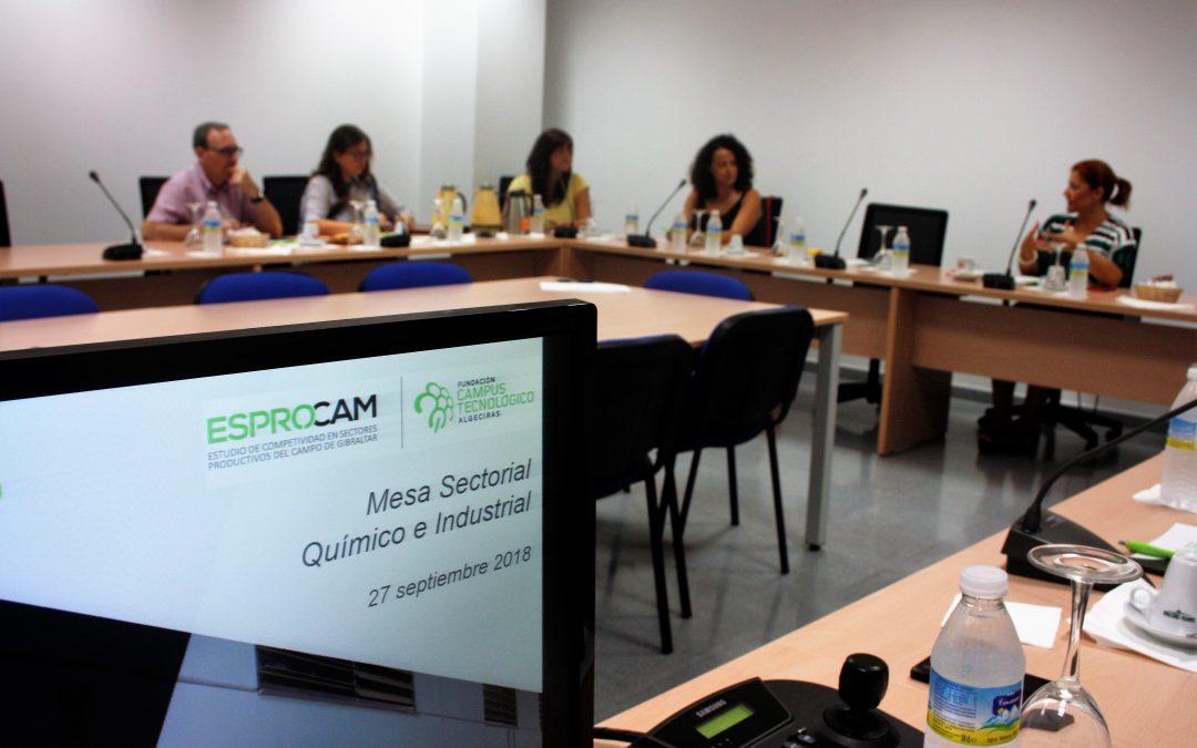 Continúa ESPROCAM con la Mesa participativa del sector Químico e Industrial