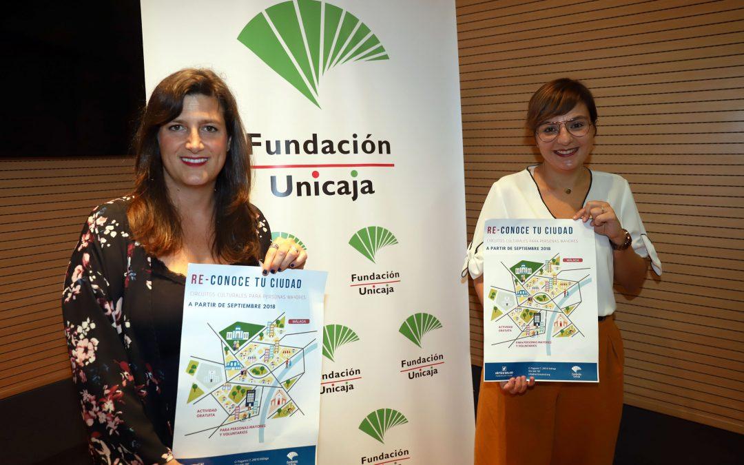 Fundación Unicaja y Fundación Juan Cruzado retoman en Málaga el programa de rutas culturales para mayores
