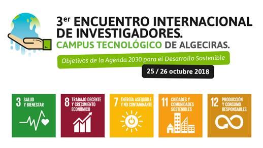 Investigadores y expertos se darán cita los días 25 y 26 de octubre en la III Edición del Encuentro Internacional de Investigadores Campus Tecnológico de Algeciras