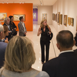 """Lourdes Moreno nos da las claves de la exposición """"La furia del color"""" del Museo Thyssen"""