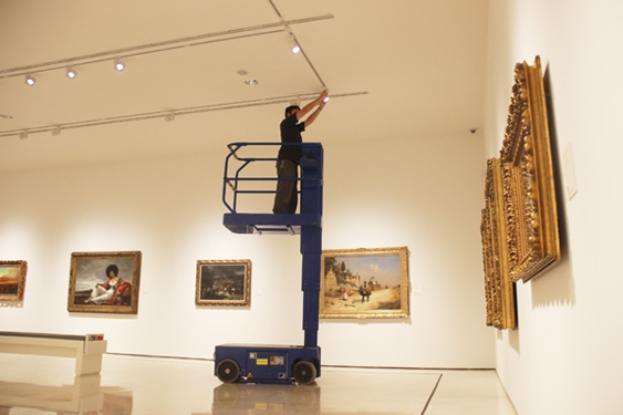 El museo carmen thyssen m laga inicia la renovaci n de su sistema de iluminaci n con tecnolog a - Iluminacion led malaga ...