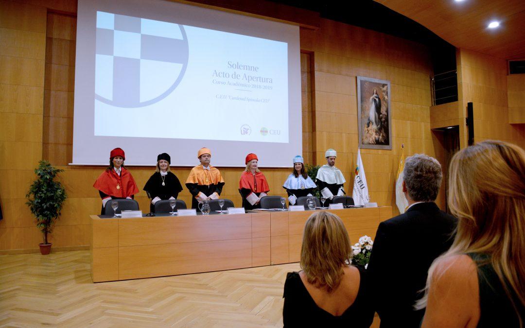CEU Cardenal Spínola inaugura nuevo curso