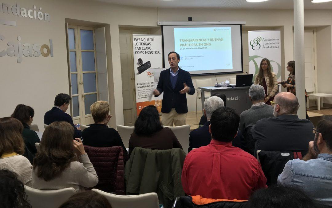 Éxito de asistencia en la Jornada sobre Transparencia y Buenas prácticas en Sevilla