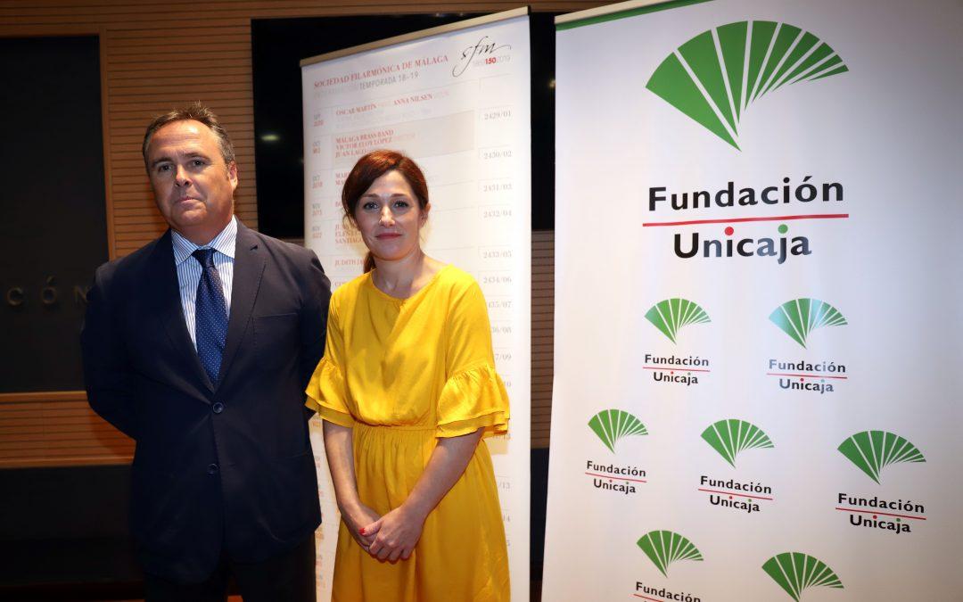 Fundación Unicaja se une a la celebración del 150 aniversario de la Sociedad Filarmónica de Málaga y su nueva temporada de actividades y conciertos
