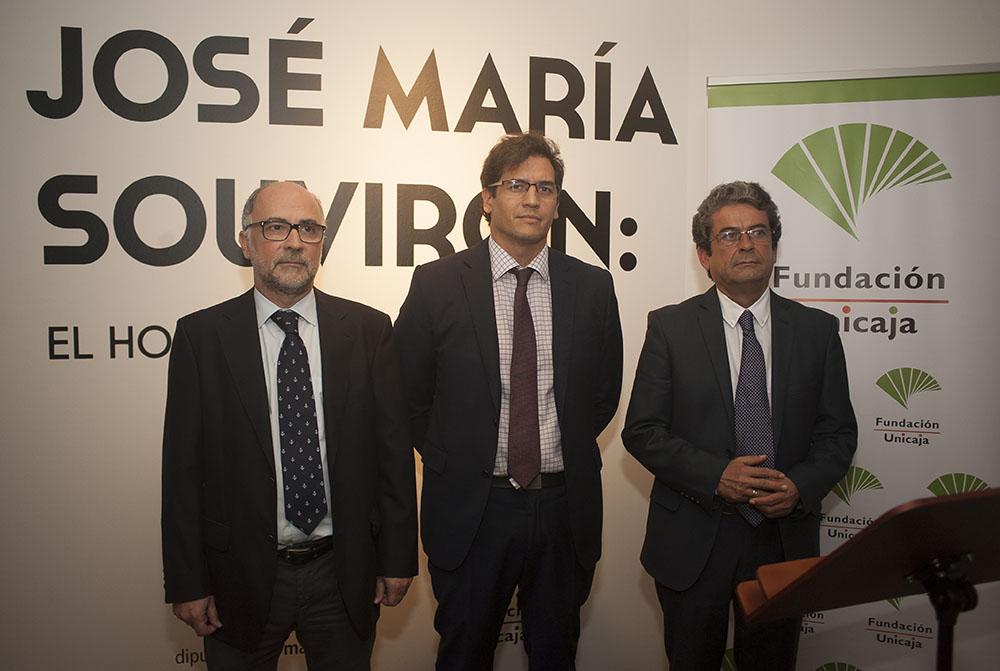 Fundación Unicaja y la Diputación de Málaga rinden homenaje a José María Souvirón a través de una exposición y conferencias