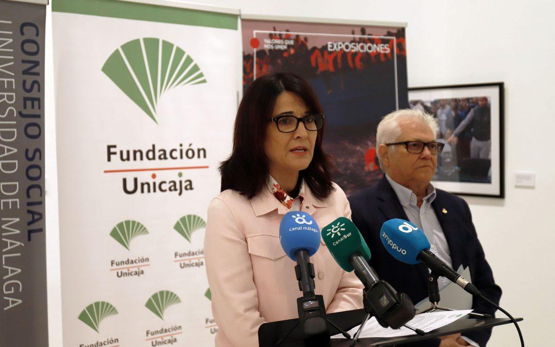 Fundación Unicaja y la Universidad de Málaga repasan diversos conflictos bélicos a través de la exposición 'Fronteras'