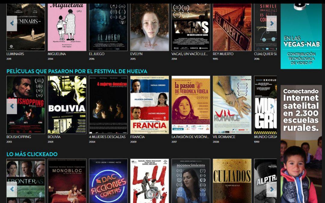 El Festival de Cine Iberoamericano y CINE.AR PLAY se unen para promocionar el cine argentino desde Huelva