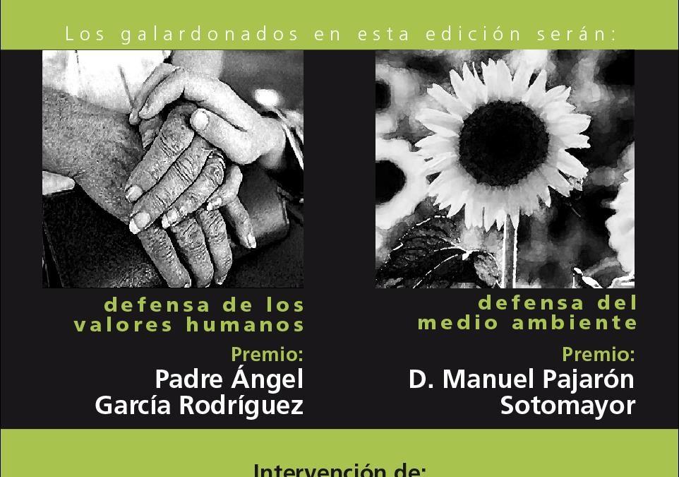 Padre Ángel García y Manuel Pajarón, Premios Fundación Social Universal 2018