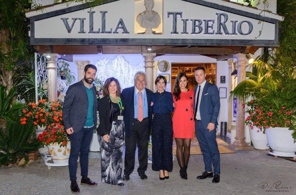 Gran noche de solidaridad en la Cena de Gala de Villa Tiberio por Cruz Roja Española y la Fundación Cudeca