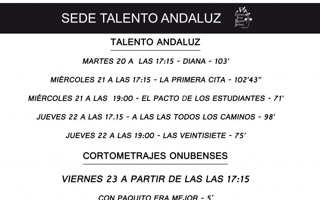 Cinco películas competirán por el Premio Juan Ramón Jiménez en la Sección Talento Andaluz
