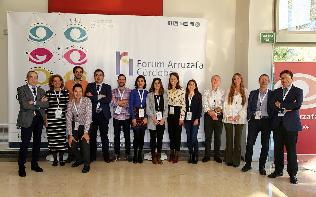 Forum Arruzafa concluye su decimonovena edición tras abordar la patología palpebral y las técnicas de cirugía estética en ojos