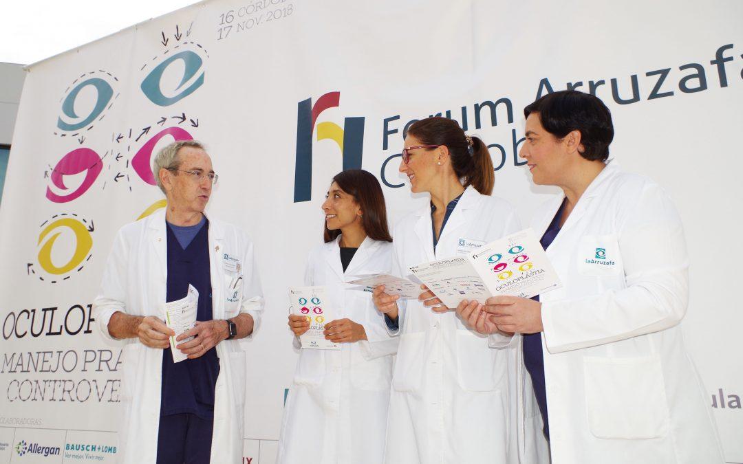 Forum Arruzafa reúne a 400 especialistas en oftalmología para hablar de oculoplastia