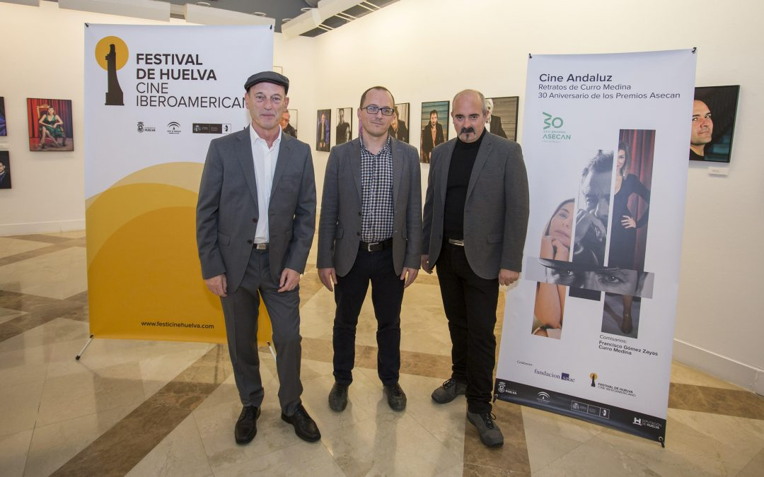 Inaugurada la exposición que recorre 30 años del cine andaluz a través de los retratos dentro del Festival de Cine