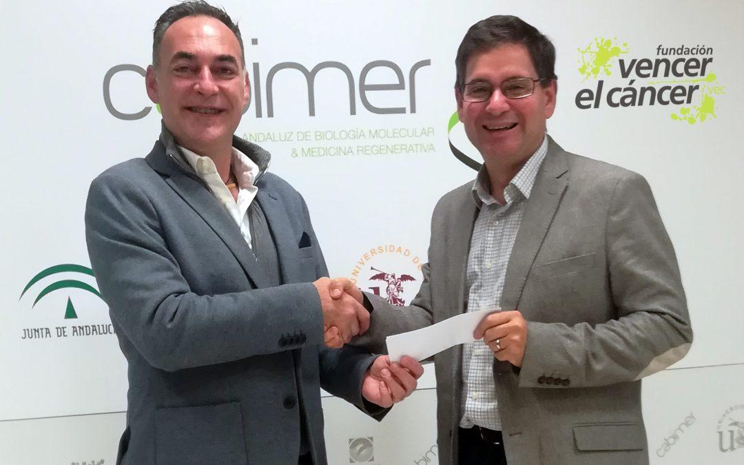 Un grupo de investigación andaluz recibe una donación para estudiar la relación entre diabetes y cáncer