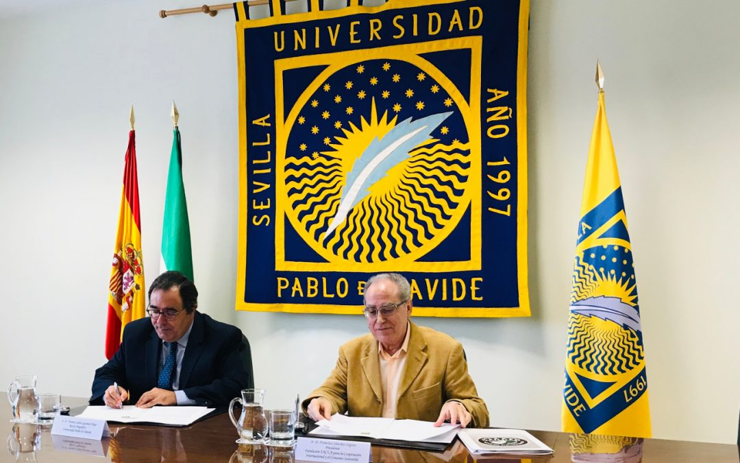 Fundación FACUA y la Universidad Pablo de Olavide firman un convenio para crear una Cátedra de Derecho de Consumo