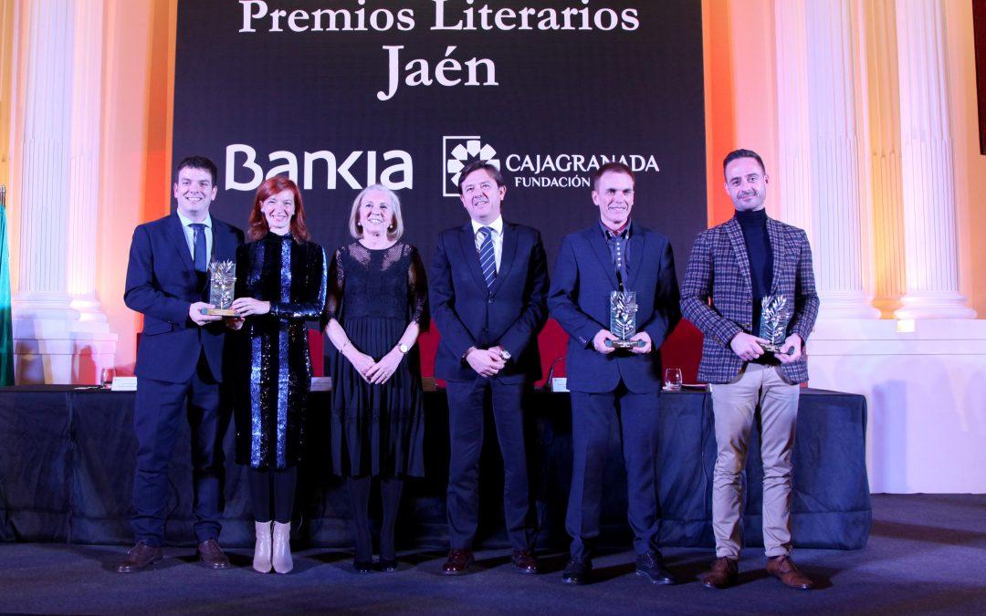 Reivindicación de la literatura en la fiesta de las letras de los XXXIV Premios Literarios Jaén de CajaGranada