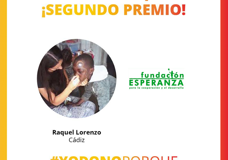 Fundación Esperanza consigue el 2º Premio en el Concurso Nacional #YoDonoPorque