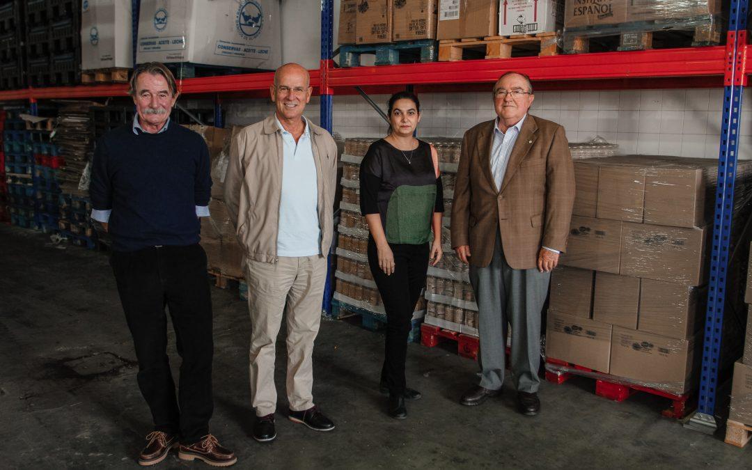 Fundación Unicaja colabora con el Banco de Alimentos de Huelva con cuatro dotaciones de comida que servirán para atender a cerca de 18.000 personas