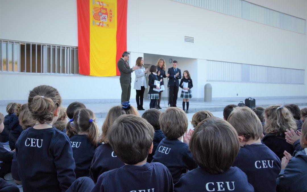 El Colegio CEU Sevilla conmemora el 40 aniversario de la Constitución Española