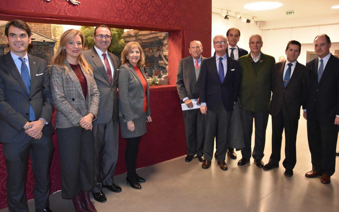 Inaugurado el Nacimiento de la Alegría con la participación de Fundación San Pablo Andalucía CEU