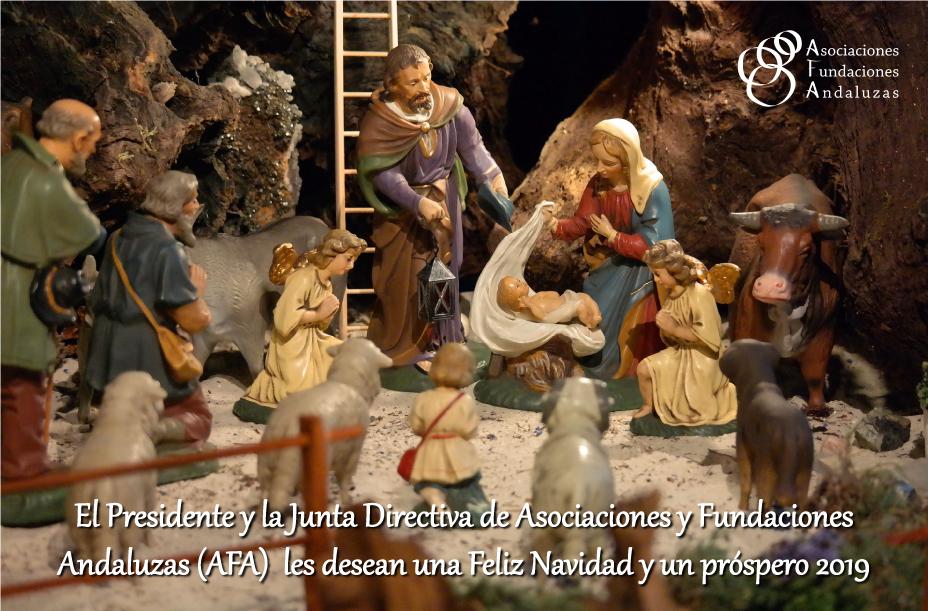 AFA les desea una Feliz Navidad y próspero año 2019